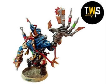 Warhammer 40k Ork Painboy, Commissioned Painting Services, Table Top Standards