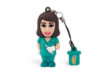 Nurse Woman USB Pendrive 8gb Professional Usb