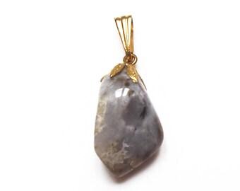 Pendant 30 mm - semi-precious stone Jasper