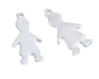 Charm boy stainless steel 1.7 cm