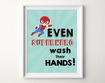 Superhero printable, Superhero art,Superhero print,Superhero nursery,Superhero quote, Spiderman,Boys room decor,Boys nursery art,Kids quotes