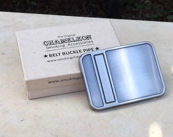 Plain Belt Buckle w/Pipe