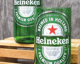 bar gift beer gift for him who have everything heinekin beer tumblers beer gift for dad from son from daughter recycled beer bottle xmas