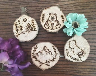California State mountains magnets