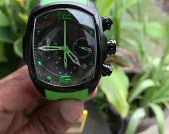 Invicta Men's Lupah Revolution Limited Edition Quartz Chronograph Polyurethane Strap Watch #20