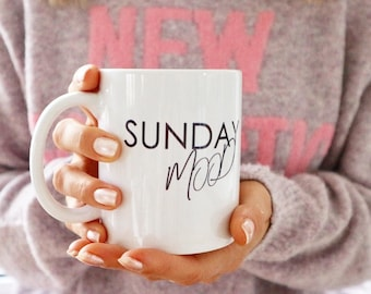 "Coffee cup ""Sunday Mood"""