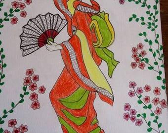 Japanese fan designs