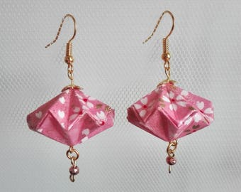 Japan Rose Diamond Earrings
