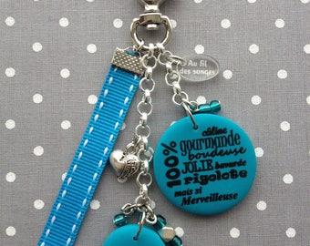 Grandma keychain or bag charm gift