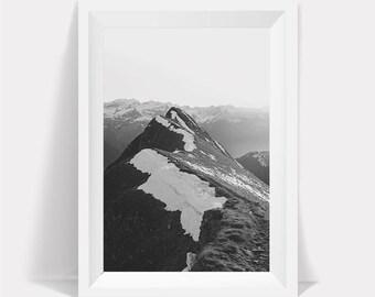 Mountain Print,Nordic Mountain,Mountain Art,Black and White,Nordic Printable Art,Mountain Prints,Mountains Print,Mountains Art,Mountains