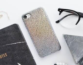 Silver Metallic Scales iPhone Case iPhone 8 Case iPhone 8 Plus Case iPhone 7 Case iPhone 7 Plus Case iPhone 6s Case iPhone 6s Plus Case Love