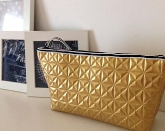 Gold large pouch size