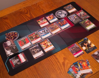 DC Comics Deck-Building Game Playmat