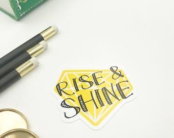 Rise & Shine Die Cut