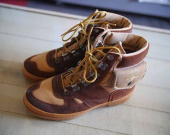 Vintage Kangaroo Hiking Boots Men's 7.5