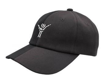 Hang Loose Dad Hat - Two/Tone Black/Grey