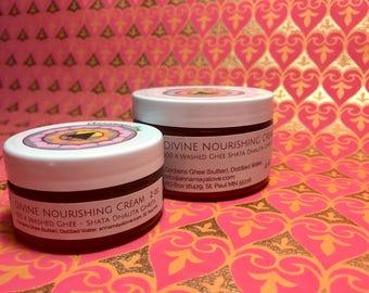 DIVINE Nourishing Cream 100X Washed Ghee (Shata Dhauta Ghrita)