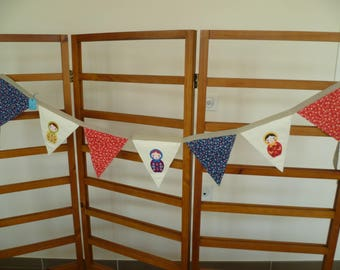 FABRIC FLAGS GARLAND