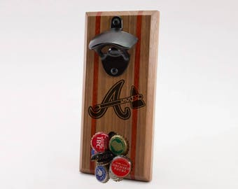 Atlanta Braves Magnetic Bottle Opener