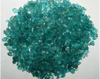 50 Ct. Natural Rarest Quality Blue Apatite Rough Loose Gemstone Wholesale Lot