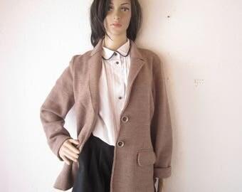 Vintage wool jacket Blazer 100% wool Brax jacket m