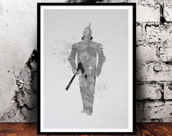 Tin Man (The Wizard of Oz) A4 watercolour print