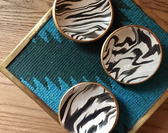 SECONDS SALE - Marbled Ring Dish