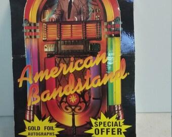 NIP set of 36 American Bandstand collectors cards