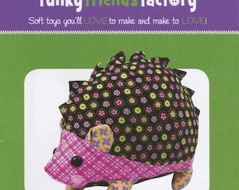 Sale Hannah Hedgehog Pattern by Funky Friends Factory - Fun Stuffed Animal Toy Pattern