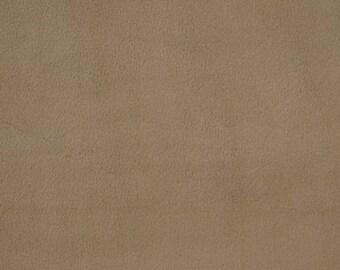 Taupe Smooth Minky Cuddle 3 - Shannon Fabrics - Smooth Minky, Taupe Minky Cuddle Fabric