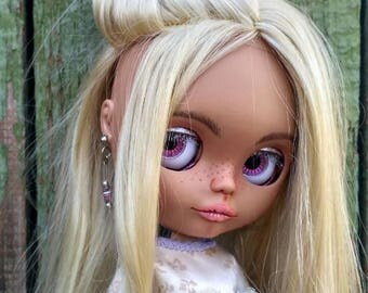 Sonya custom Blythe ooak doll, cute interior doll. collectible Blythe doll