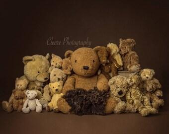 teddy bears digital background