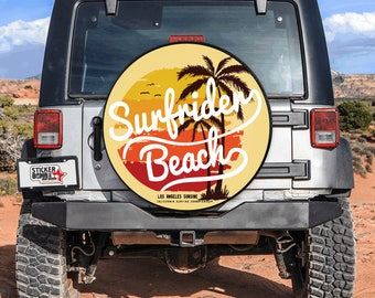 Tire Cover Surfrider Beach