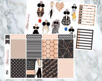Style // Weekly Kit - Erin Condren Life Planner Vertical - 180 + Stickers