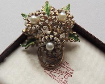 Vintage, Christmas Theme Brooch (XM015)
