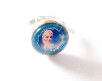 ring cabochon child frozen
