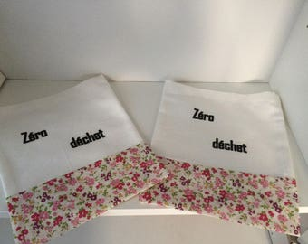 Set of 2 bags zero waste