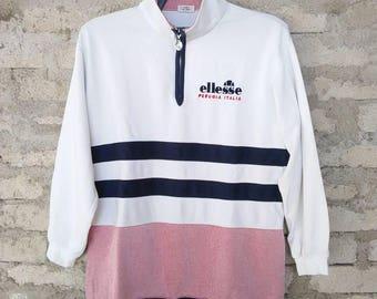 Rare!!!Ellesse Perugia Italia ladies half zipper sweatshirt!!! Great condition!!!