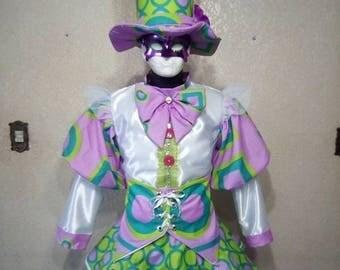 Candy Girl Stilt Costume