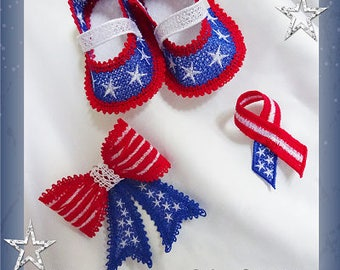 Set of Designs for Independence Day/