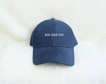 Bad Hair Day Baseball Hat Embroidered Baseball Caps Hipster Fashion Cotton Hats Pinterest Instagram Tumblr
