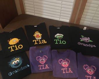 Sesame Street Shirts