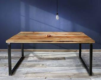 Dining table made of timber, Erik 3, 180 x 96cm