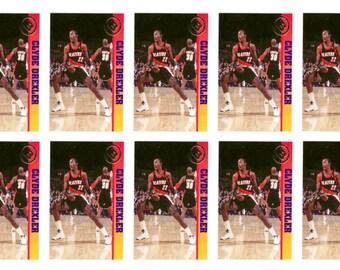 10 - 1993 Ballstreet Clyde Drexler Basketball Card Lot Portland Trail Blazers