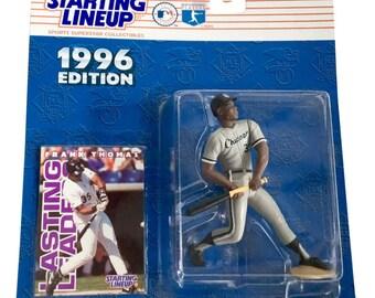 MLB Starting Lineup SLU Frank Thomas Action Figure Chicago White Sox 1996 Kenne