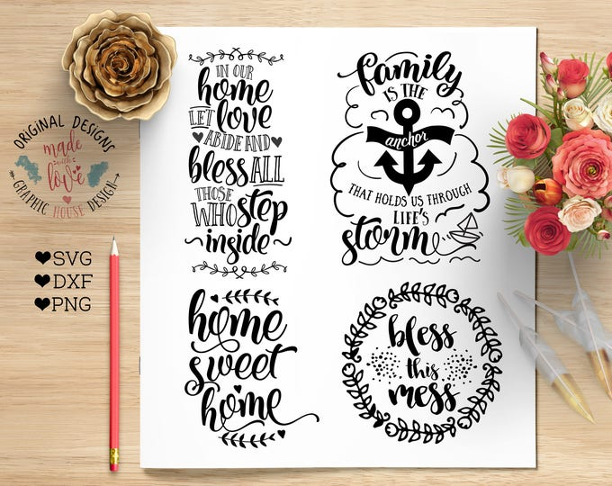 svg bundles, home svg, family svg, bless svg, decal designs, stencil designs, svg designs, home quotes, blessings svg, prayer svg, farm svg