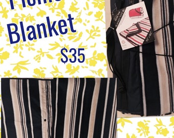 """Picnic Time Picnic Blanket; Brand New with tag 70"""" X 80"""""""