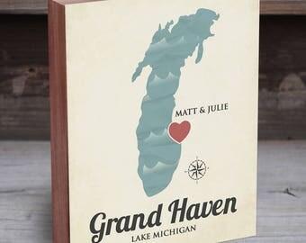Grand Haven - Grand Haven Mi - Grand Haven Michigan Art - Grand Haven Art - Grand Haven Lighthouse - Grand Haven Mi Lighthouse