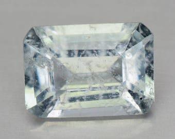 Beautiful 0.60 Cts  Natural Unheated Blue Aquamarine Emerald  Loose Gemstones