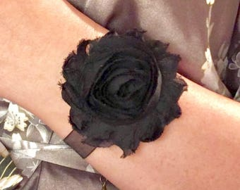 Chiffon Floral Bracelet